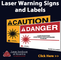 Laser Warning Signs and Labels